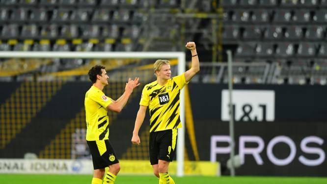 Dortmund met wederoptredende Thorgan Hazard maatje te sterk voor buren van Schalke, al moet Club allesbehalve schrik hebben