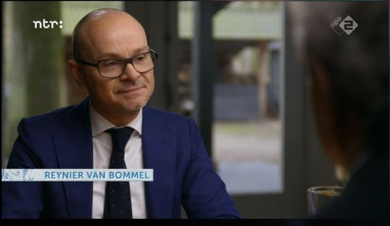 Reynier van Bommel in In de beste families. Beeld null