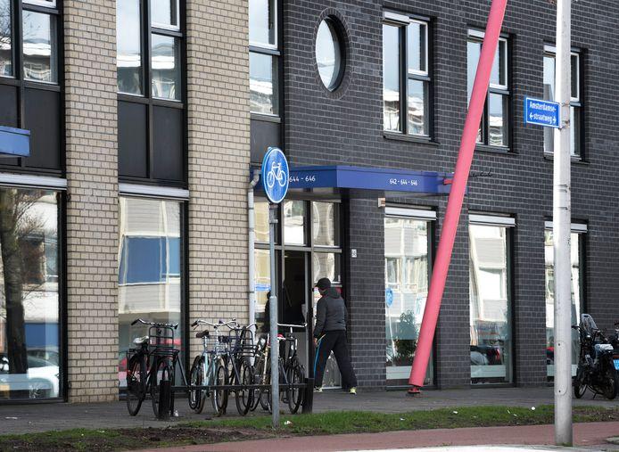 Het pand aan de Amsterdamsestraatweg waarin Dolia Zorg gevestigd was.