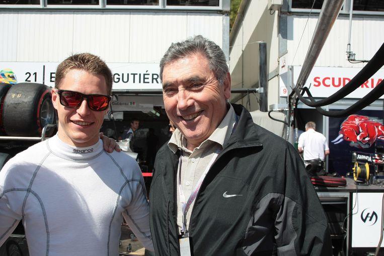 Eddy Merckx op bezoek in Monaco.