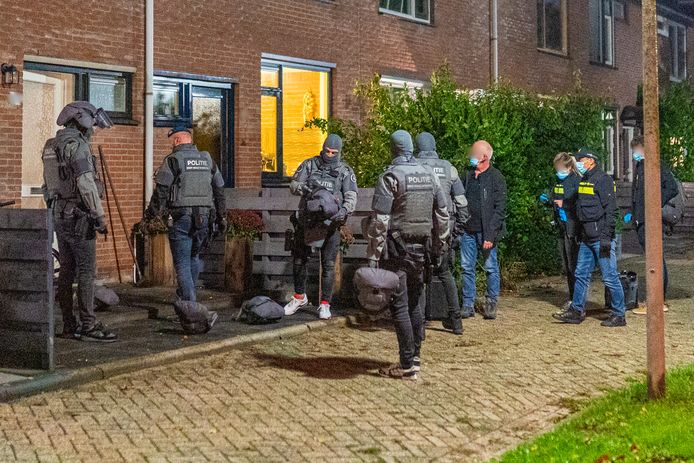 DSI inval Papendrecht Watermolen drugs