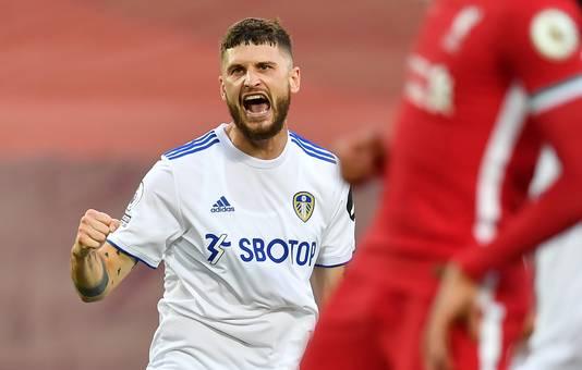 Mateusz Klich zet Leeds voor de derde keer naast Liverpool.