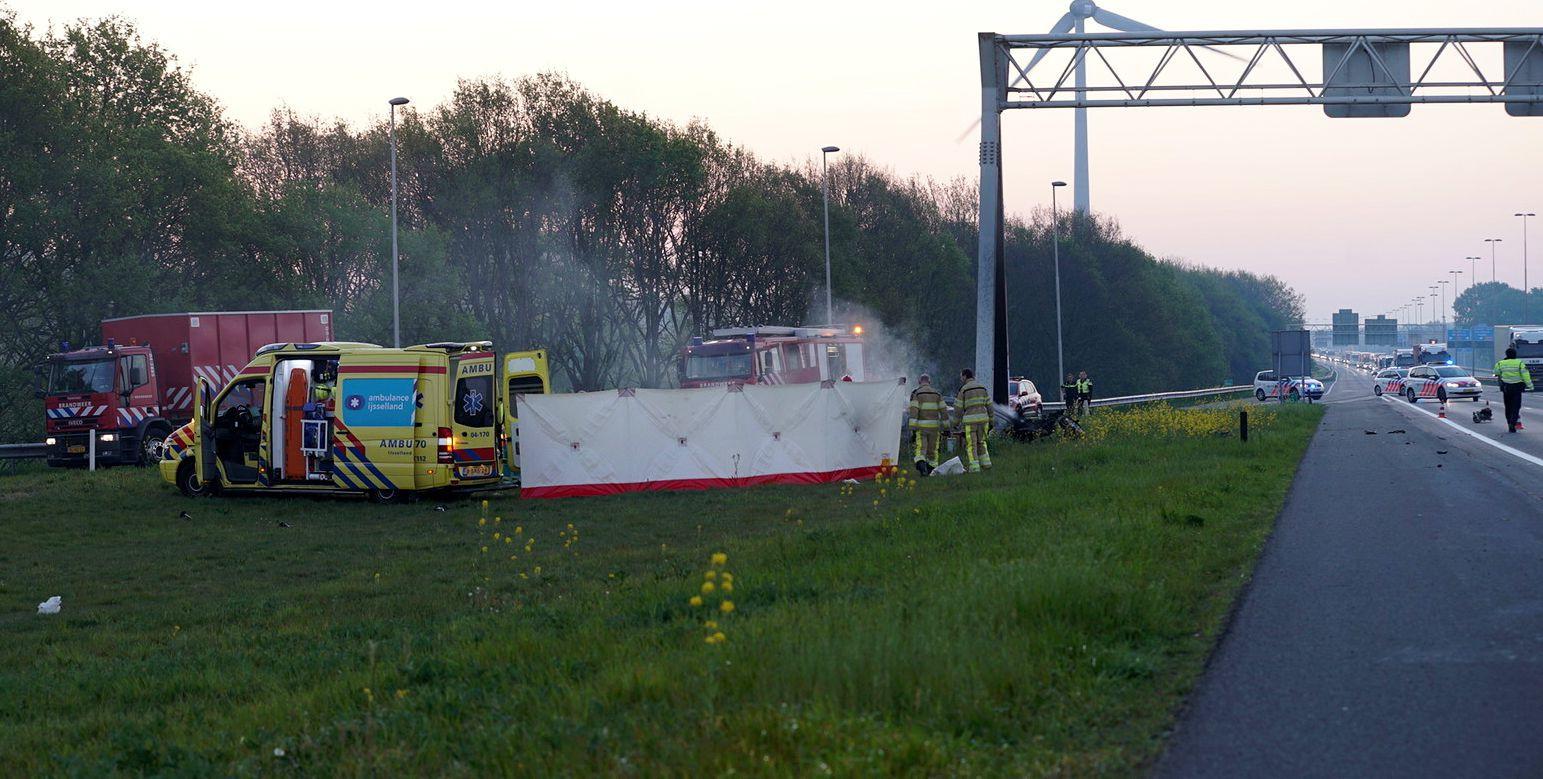 Bij het ongeluk in Deventer kwamen vier mensen om het leven.