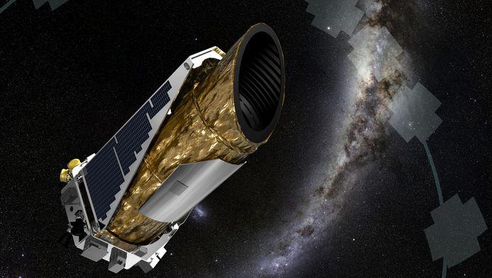 De Kepler-ruimtetelescoop van NASA.