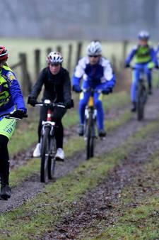 NK mountainbike voor jeugd in 2018 in Oldenzaal
