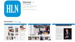 Update van HLN-krant beschikbaar in App Store
