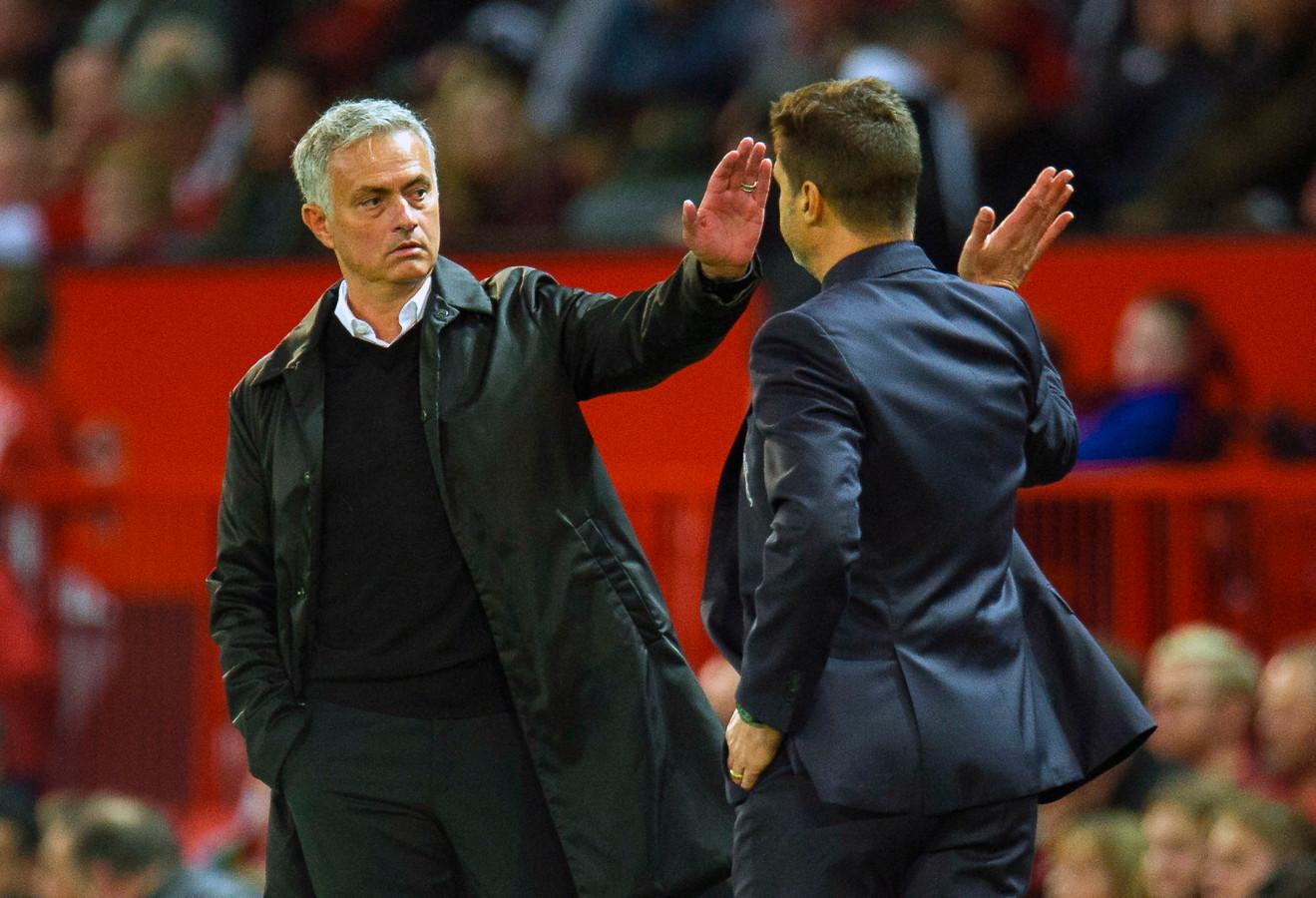 José Mourinho nam bij Spurs het stokje over van Mauricio Pochettino.