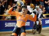 Harrie Lavreysen Europees kampioen keirin