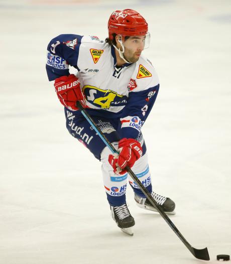 Nijmegen Devils rolt Bulldogs Luik op; ijshockeyers op koers voor play-offs