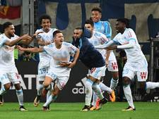 Cavani voorkomt eerste nederlaag PSG op bezoek bij Olympique Marseille
