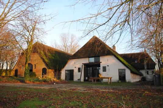Boerderij De Munnikenwoerd in Altforst, de locatie  van de proosdij van Bessela van Someren.