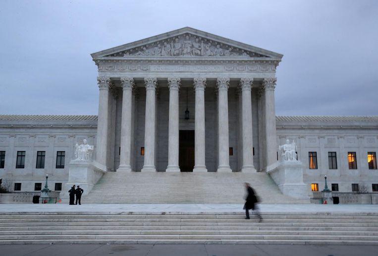 Het hooggerechtshof in Washington. Beeld afp