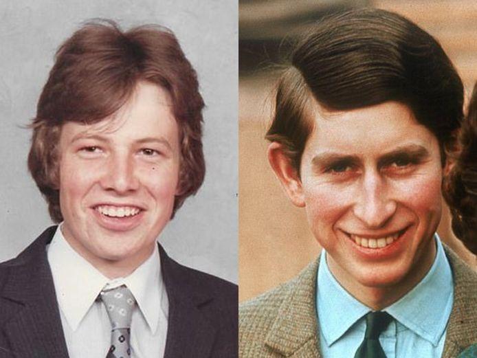 Selon Simon Dorante-Day, sa ressemblance physique avec le prince Charles est frappante.