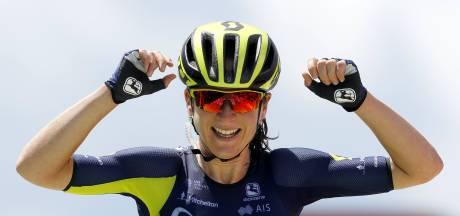 Van Vleuten pakt leiderstrui in Giro Rosa