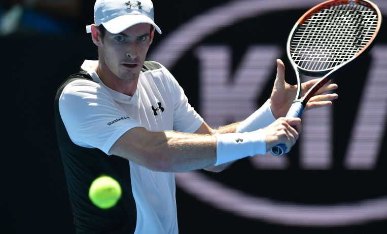 Andy Murray. Beeld null