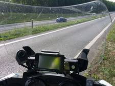 Bonnenregen op N36 voor appende en te hard rijdende bestuurders