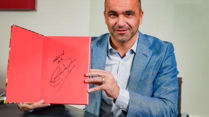 WIN een door bondscoach Roberto Martínez gesigneerd exemplaar van het boek 'Briljant België' én een duoticket voor de Rode Duivels