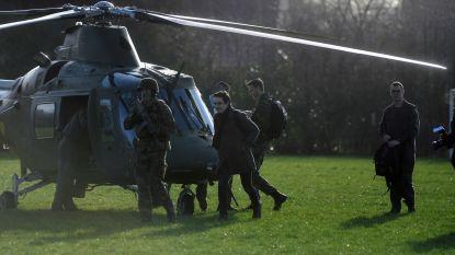 """Leger houdt dag vol workshops in Don Bosco. Voorzitter leerlingenraad landt met helikopter van luchtmacht in school: """"Zalig!"""""""
