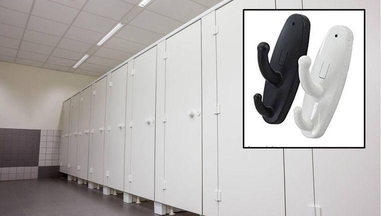 Hangt Deze Kapstok In Toilethokje Maak Je Dan Snel Uit De