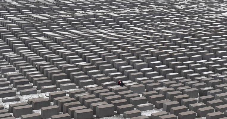 Het Holocaustmonument in Berlijn. Beeld afp