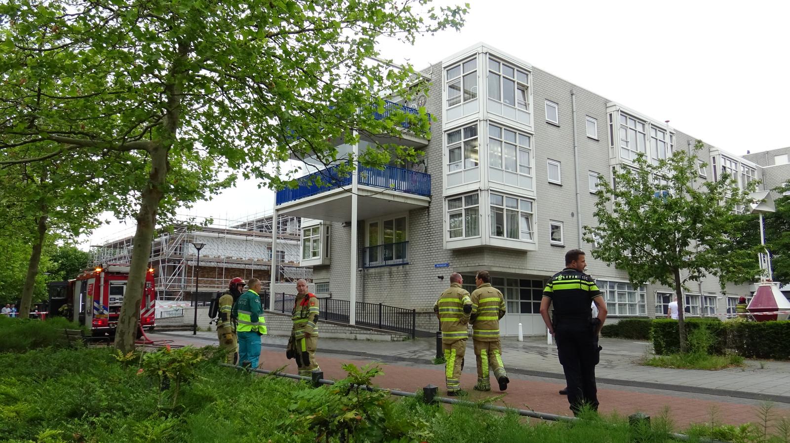 Brandje bij de Uiterton in Lelystad.
