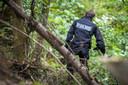 De politie deed sporenonderzoek in de bossen van Spa.