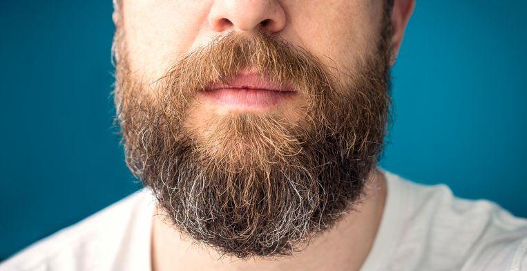 Een lange baard zou de werking van het mondmasker teniet doen.
