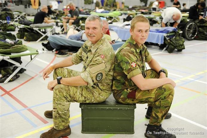 De militairen die voor even in Twente waren