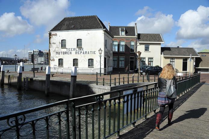 Het pand aan de Buiten Kalkhaven is net op tijd hersteld.