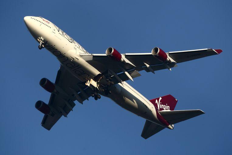 Het toestel van Virgin Atlantic had problemen met het landingsgestel.