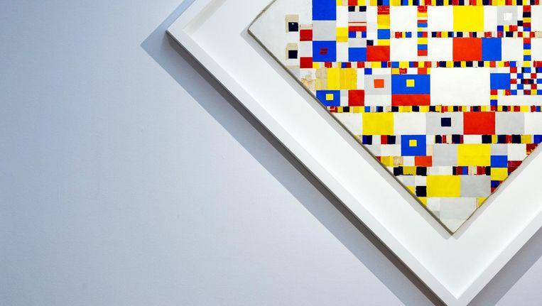 Tentoonstelling De ontdekking van Mondriaan in het Gemeentemuseum in Den Haag. Beeld anp