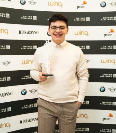 Jongere van het jaar Emre vult prijzenkast aan met 'Youth Diversity Award'