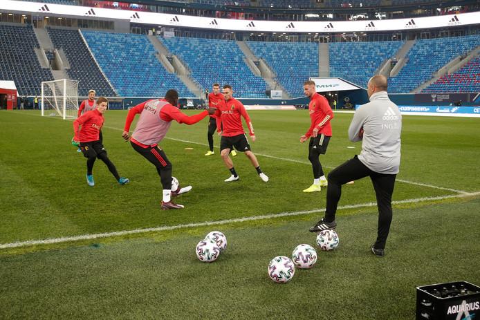 Les hommes de Roberto Martinez disputeront deux matchs à Saint-Pétersbourg pendant la phase de poules