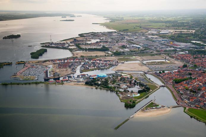 Het Waterfront in Harderwijk.