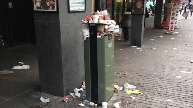 Na stort van vorig weekend: burgerketens gaan mee afval opruimen