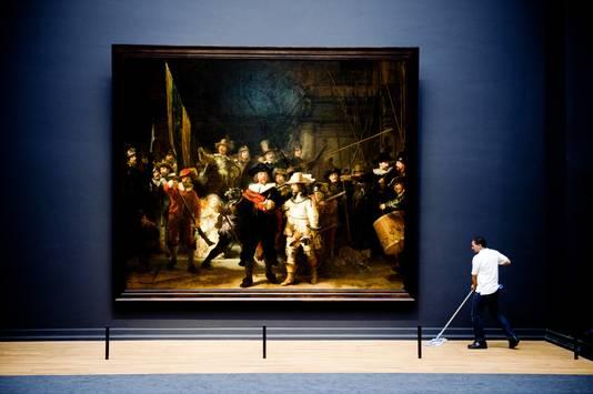 De Nachtwacht in het Rijksmuseum