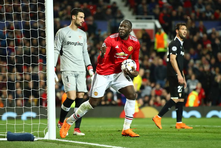 De vijfde goal van Lukaku in deze Champions League kwam te laat.