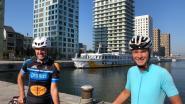 """Yves Vandeputte fietst 1.600 kilometer om overleden dochtertje te huldigen: """"Als ik het moeilijk heb, zal Shana mij kracht geven"""""""