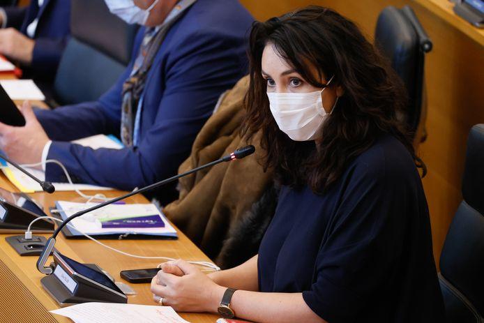 Christie Morreale, ministre wallonne de la Santé.