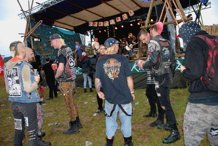 Krotrock lokt elk jaar een kleurrijke bende muziekliefhebbers naar het landelijke Wolvertem.
