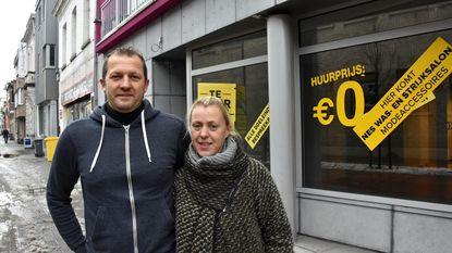 Vanessa huurt handelspand voor 0 euro