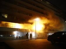 Grote brand in zorgflat in Zwolle: bewoners geëvacueerd
