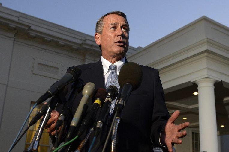 John Boehner Beeld epa