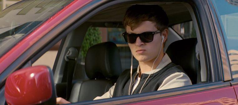 Ansel Elgort in Baby Driver (Edgar Wright, 2017). Beeld