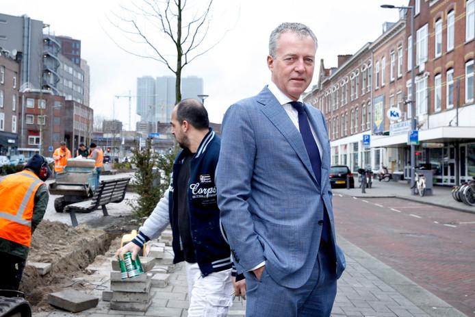 ,,De winkel met banen ligt vol'', zegt Marco Pastors, directeur van het Nationaal Programma Rotterdam Zuid (NPRZ).