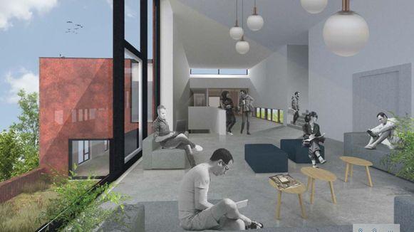 De nieuwbouw straalt warmte en huiselijke gezelligheid uit.