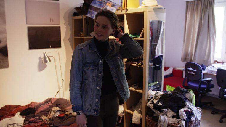 Anuna De Wever toont haar slaapkamer