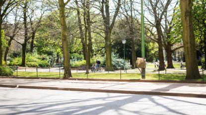 Wandel- en fietspad in Koning Albertpark afgesloten