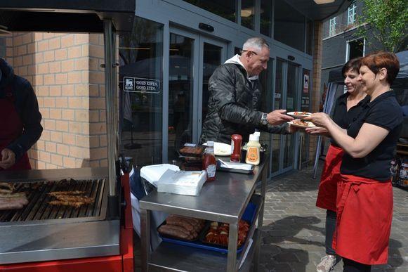 Peter Van Asbroeck komt, om kookworkshops te geven.