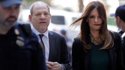 """Advocate van Harvey Weinstein gaat voor de vrijspraak: """"Ik kan me veel meer permitteren dan een man"""""""